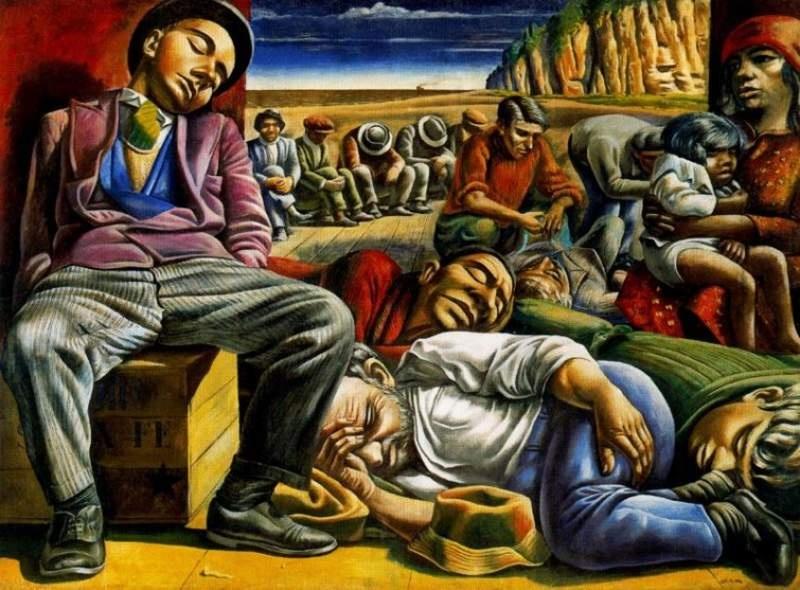 Antonio berni de la realidad al lienzo for El mural de siqueiros en argentina